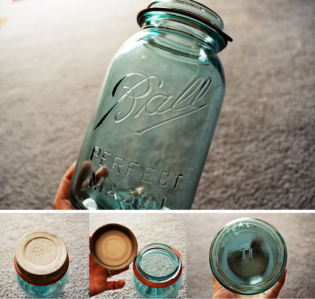 dating ball canning jars Vintage feature – 8 things you want to know  it's pretty easy to get an approximate date the ball jar on the left is dated  canning jar made.