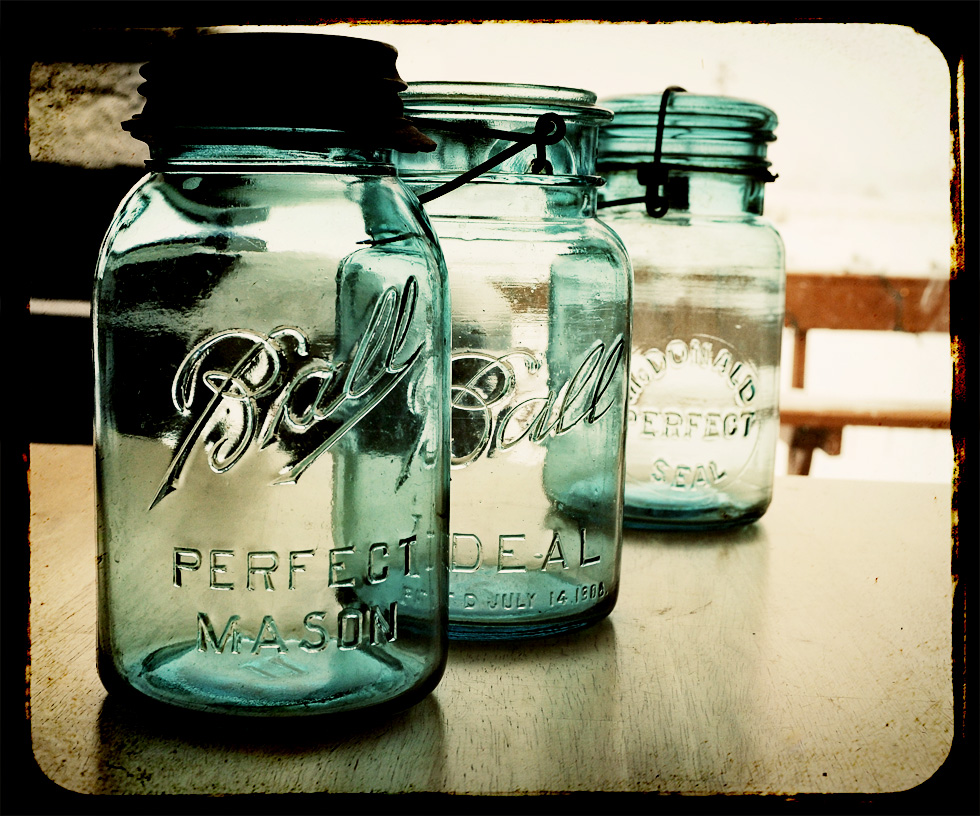 Ball Jars - Perfect Mason, Ideal