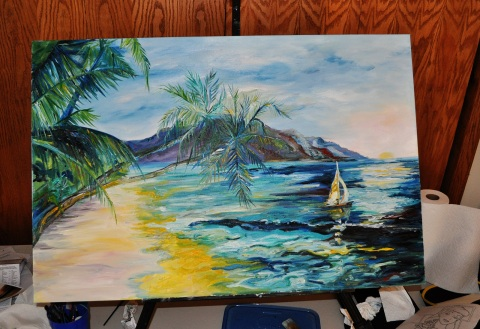 Hawaii Painting Update