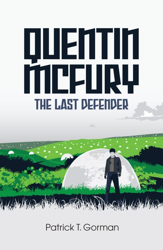 Quentin McFury - The Last Defender Cover