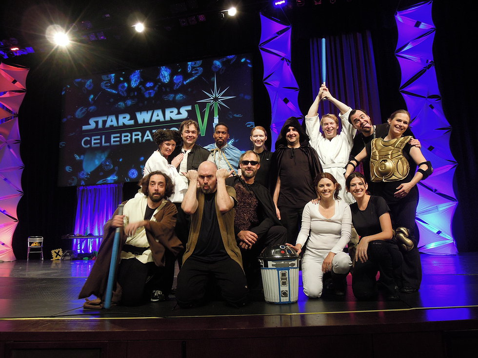Star Wars Saga in 60 Minutes Cast