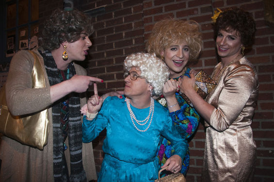 Dudes as Golden Girls